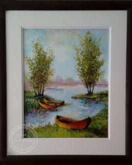 """Obraz olejny """"Marzenia"""" 50×40 cm"""