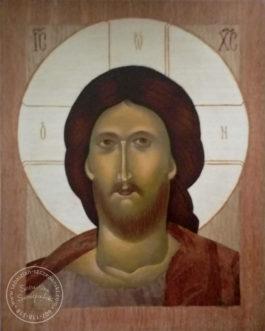 Intarsja, Ikona Chrystus Pantokrator 25×30 cm