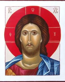 Ikona Chrystus Pantokrator 25×30 cm
