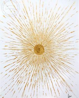 """Obraz akrylowy strukturalny """"Światło"""" 60×80 cm"""
