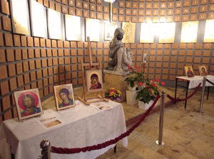 Wystawa ikon w Kościele w Otrębusach